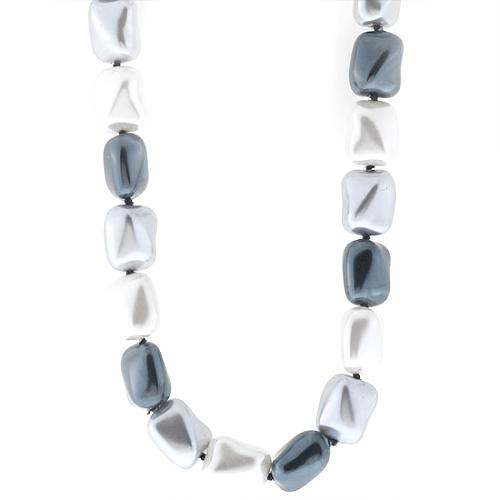 Kenneth Jay Lane Large Pearl Bead Necklace