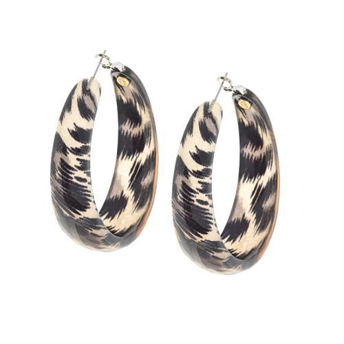 Kenneth Jay Lane Leopard Earrings