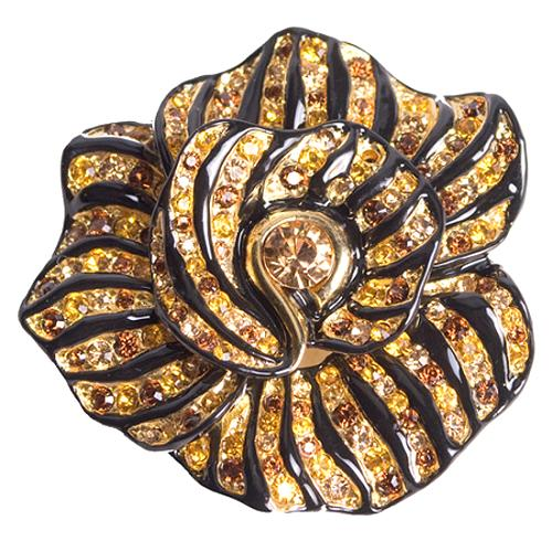 Kenneth Jay Lane Medium Rose Pin