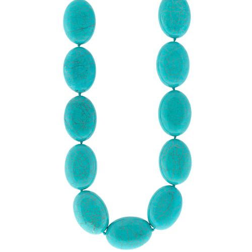 Kenneth Jay Lane Turquoise Bead Necklace