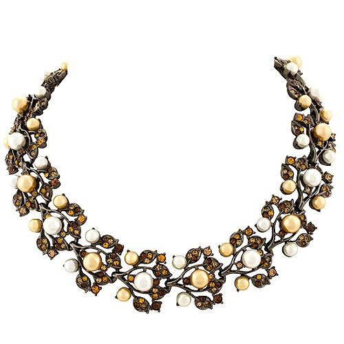 Kenneth Jay Lane Vine Necklace