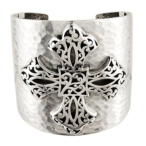 Lois Hill Cross Cuff Bracelet