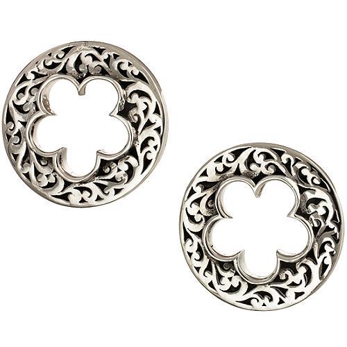 Lois Hill Flower Cut Out Stud Earrings