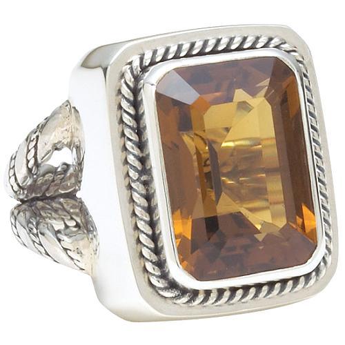 Lori Bonn Basque Rectangle Ring