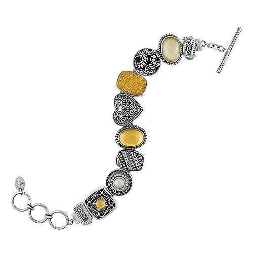 Lori Bonn Gold Slider Bracelet