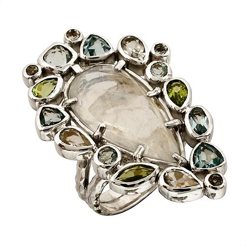 Lori Bonn Pear Ring