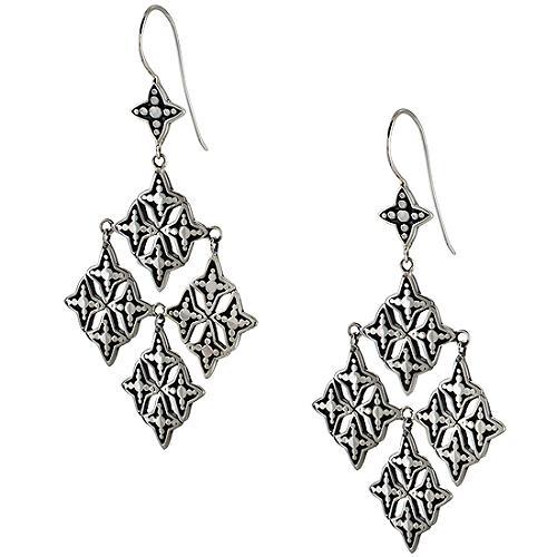 Lori Bonn Windsor Florentine Diamond Chandelier Earrings
