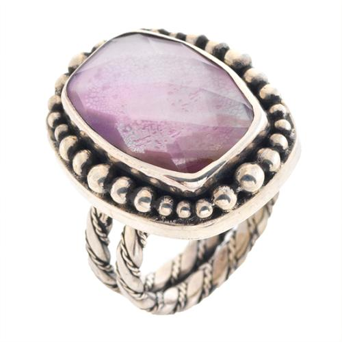 Lori Bonn Wisteria Rectangle Ring