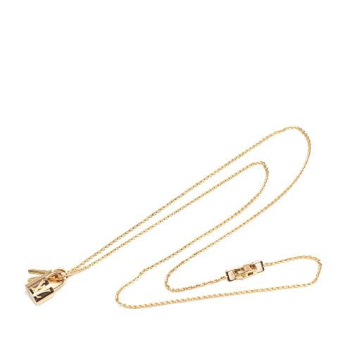 Louis Vuitton 18K Lockit Key Necklace