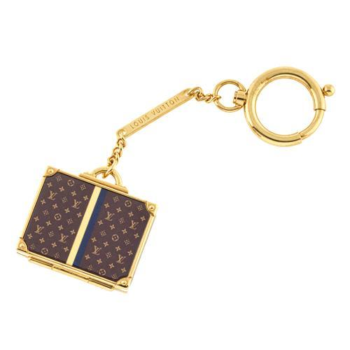 Louis Vuitton Alzer Bag Charm with Mirror