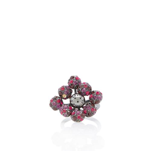 Louis Vuitton Crystal 1001 Nuits Ring - Size 6 1/2