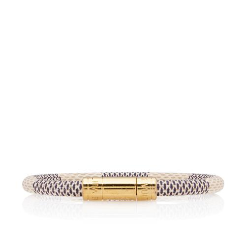 Louis Vuitton Damier Azur Keep It Bracelet