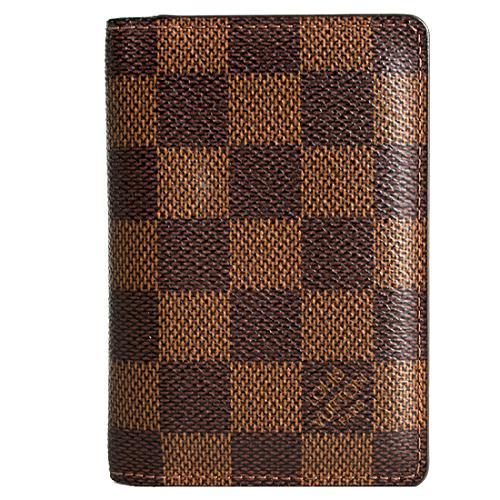 Louis Vuitton Damier Ebene Pocket Organizer Card Holder