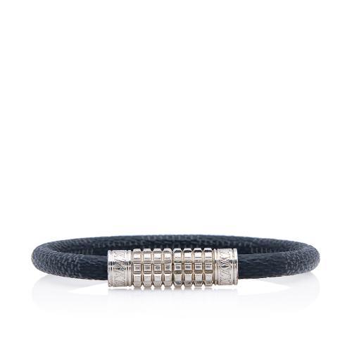 Louis Vuitton Damier Graphite Digit Bracelet