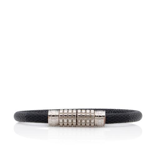 Louis Vuitton Damier Graphite Keep It Bracelet