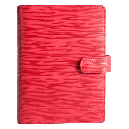 Louis Vuitton Epi Leather Medium Ring Agenda Cover