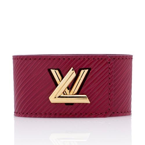 Louis Vuitton Epi Leather Twist It Bracelet