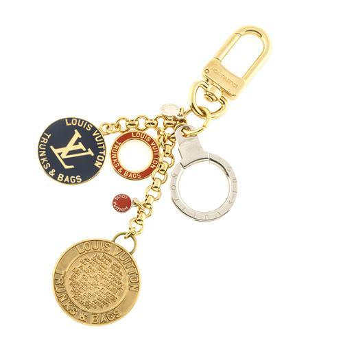 Louis Vuitton Globe Key Ring Bag Charm