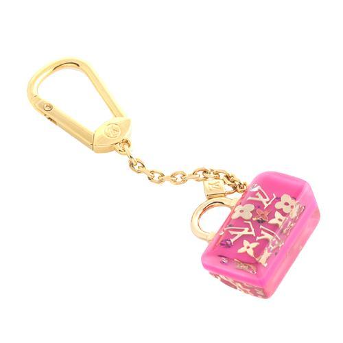 Louis Vuitton Inclusion Speedy Key Ring Bag Charm