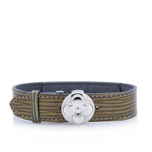 Louis Vuitton Vintage Leather Good Luck Bracelet - FINAL SALE