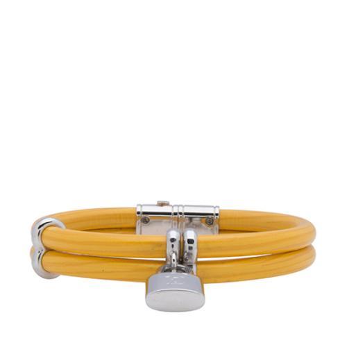 Louis Vuitton Leather Keep It Twice Bracelet