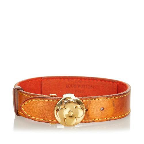 Louis Vuitton Leather Wish Bracelet
