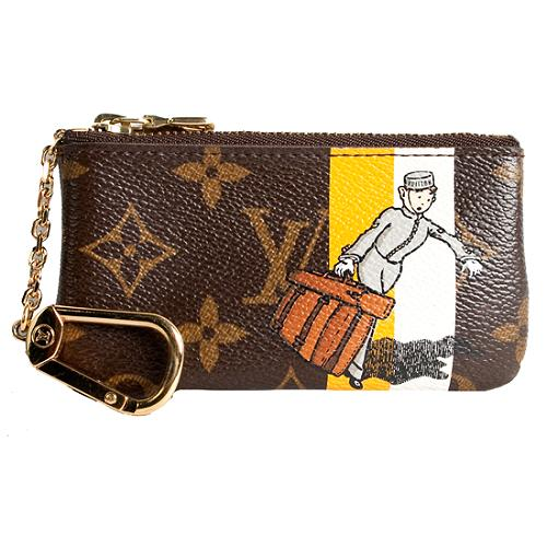 Louis Vuitton Limited Edition Monogram Groom Pochette Cles Coin Pouch