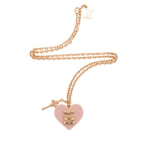 Louis Vuitton Lock Me Pendant Necklace