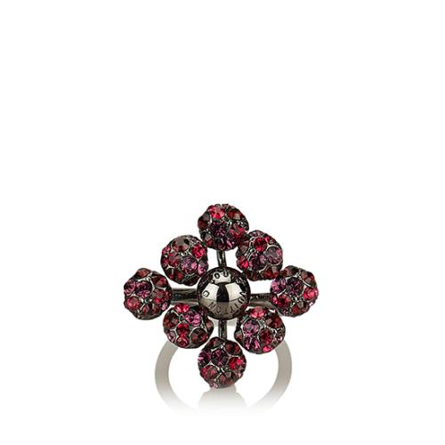 Louis Vuitton Crystal 1001 Nuits Ring - Size 5 1/2