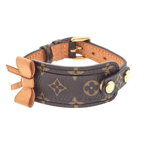 Louis Vuitton Monogram Canvas Address Bracelet