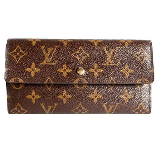 Louis Vuitton Monogram Canvas Porte Tresor International Wallet