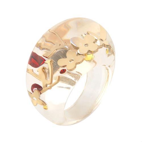 Louis Vuitton Monogram Inclusion Ring