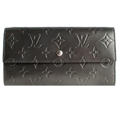 Louis Vuitton Monogram Mat Porte-Tresor International Wallet
