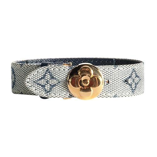 Louis Vuitton Monogram Mini Lin Wish Bracelet