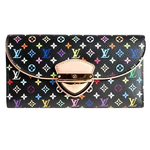 Louis Vuitton Monogram Multicolore Eugenie Wallet
