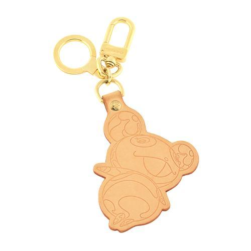 Louis Vuitton Murakami Vachetta Panda Key Ring Bag Charm