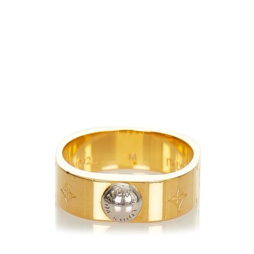 Louis Vuitton Nanogram Ring - 6 3/4