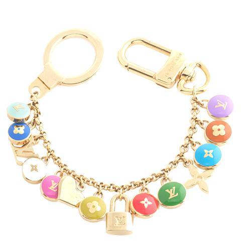 Louis Vuitton Pastilles Key Ring/ Bag Charm