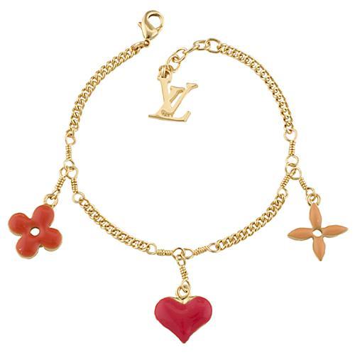 Louis Vuitton Sweet Monogram Bracelet