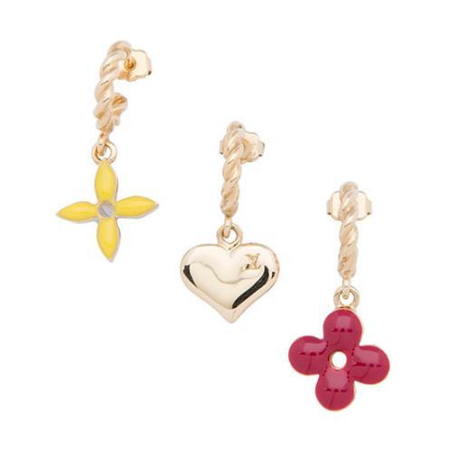 Louis Vuitton Sweet Monogram Earring Set