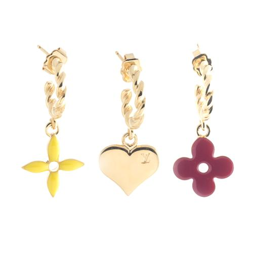 Louis Vuitton Sweet Monogram Earrings