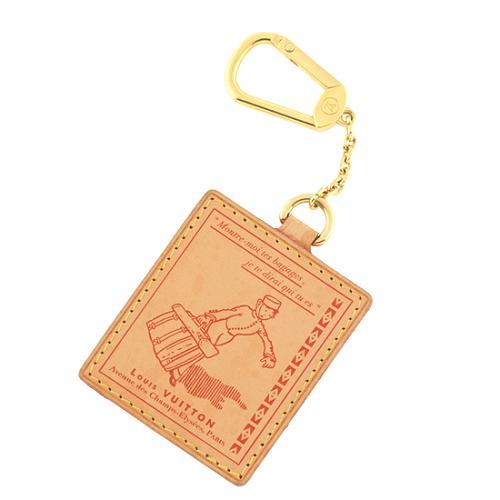 Louis Vuitton Vachetta Groom Key Ring Bag Charm