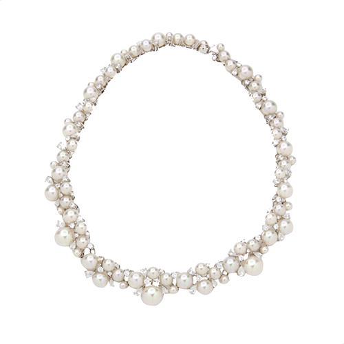 Majorica Pearl Collar Necklace