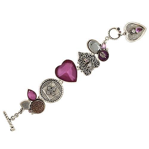 Mars and Valentine Hearts of Hearts Bracelet