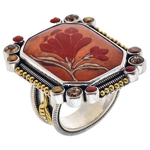 Mars and Valentine Ring
