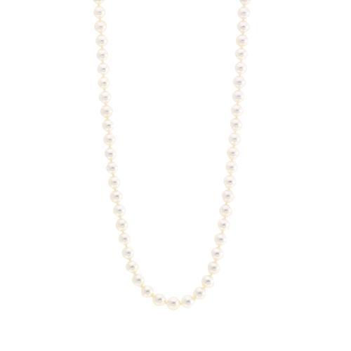 "Mikimoto Akoya Pearl 18"" Necklace"