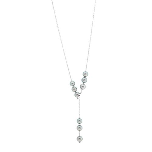 Mikimoto Pearls in Motion Tahitian Pearl Necklace