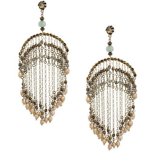 Miriam Haskell Chandelier Earrings