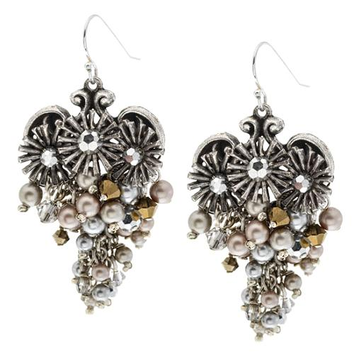 Miriam Haskell Dangle Earrings