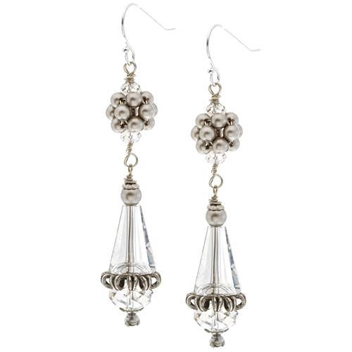Miriam Haskell Dangle Earrings